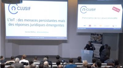 L'iot Des Menaces Persistantes Panocrim 2018 Youtube