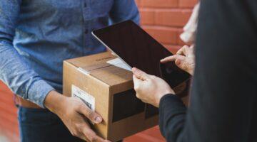 receiving shipping box
